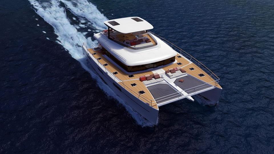 Lagoon запускает проект моторного катамарана