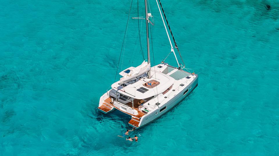 Новые модели Lagoon 42, 77 и Motor Yacht 78