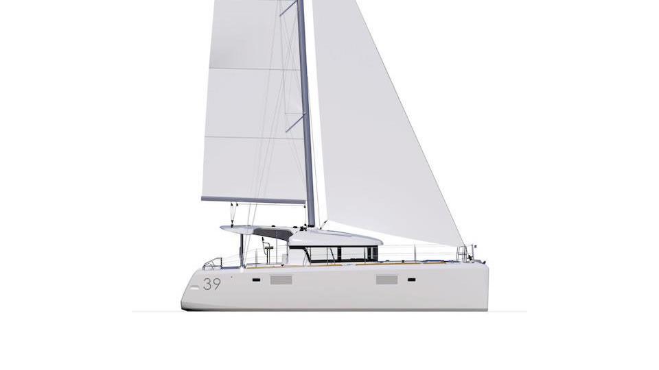 Новый парусный катамаран Lagoon 39