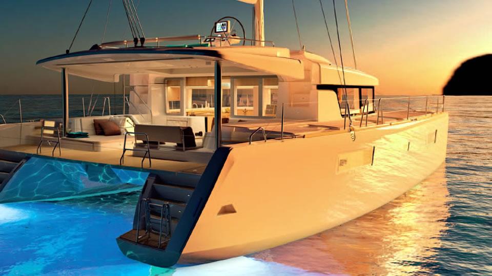 Новый парусный катамаран Lagoon 52