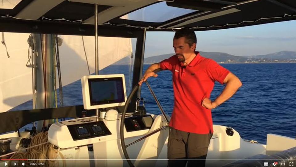 Видео обзор парусного катамарана Lagoon 52 F