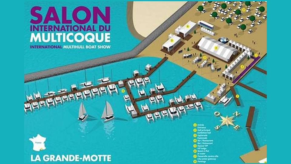Выставка Salon international du Multicoque апрель 2016