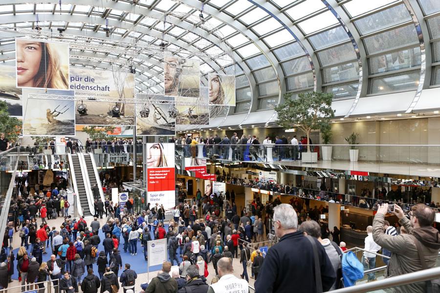 Приглашаем на яхтенную выставку в Дюссельдорфе январь 2017